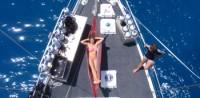 front deck hammock Coral Sea Dreaming
