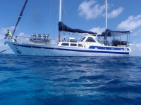 Coral Sea Dreaming overnight sailing trip