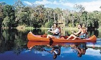 On the Wallaby canoeing