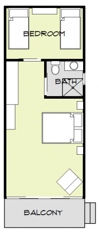 Beach Cabin floor plan